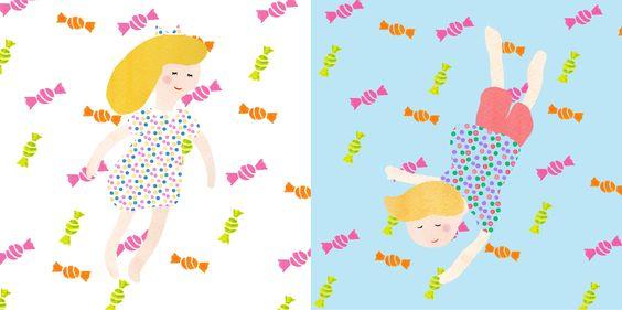 Candy  #pattern #illustration