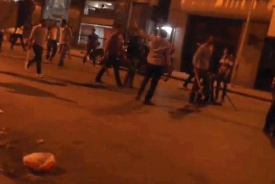 البلطجيه يهجمون منذ قليل علي اصحاب المحلات مرة اخري التحرير - eyoon