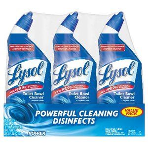 Lysol Power Toilet Bowl Cleaner Value Pack 3 X Toilets Dr Oz And Chang 39 E 3