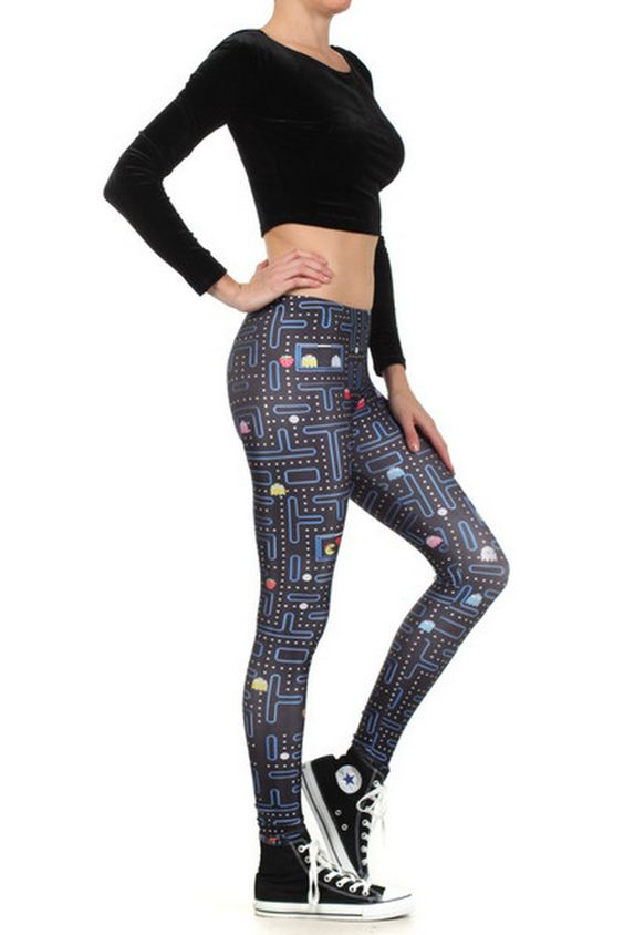 Pacman In Love Legz by Poprageous ($75)
