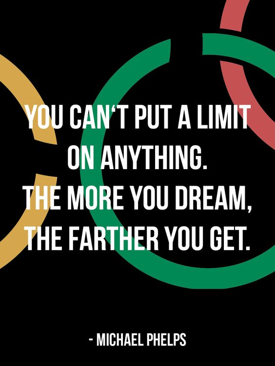 Motivational Olympic competitor?