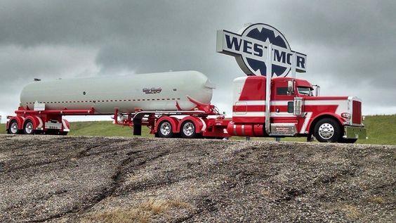 Peterbilt an tanker trailer | Trucks | Pinterest ...