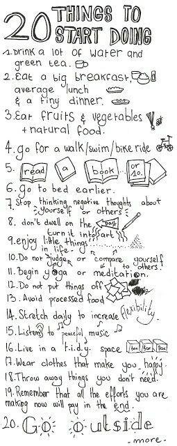 20 things to start doing #Various #Trusper #Tip