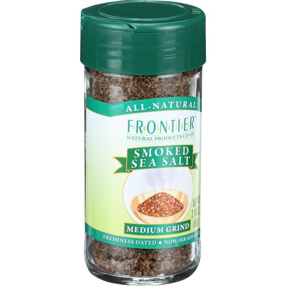 Frontier Herb Grinder - Yakima Applewood Smoked Sea Salt - 2.4 oz
