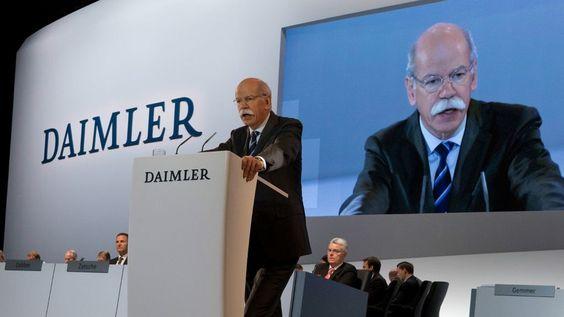 Daimler: Was auf Dieter Zetsche bis 2019 zukommt