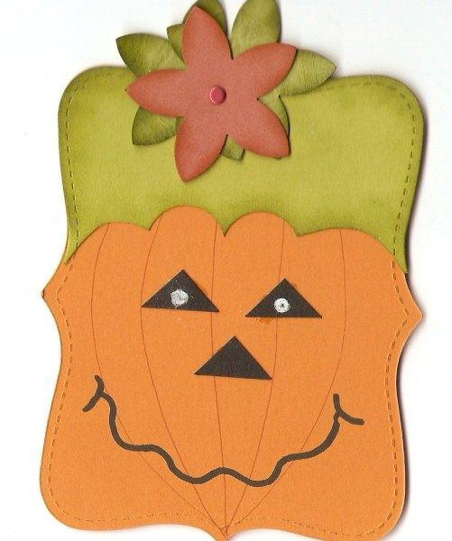 Stampin' Up!  Top Note  Maria Lema  Pumpkin