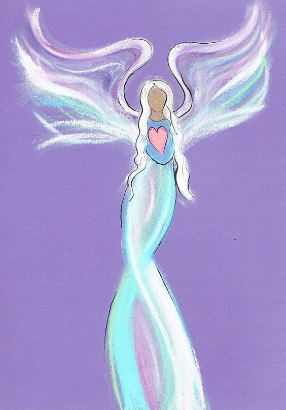 Another intuitive angel drawing www.angelsco.nl