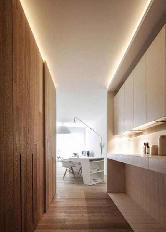 Un clairage led pour les escaliers photos interieur for Eclairage pour escalier interieur