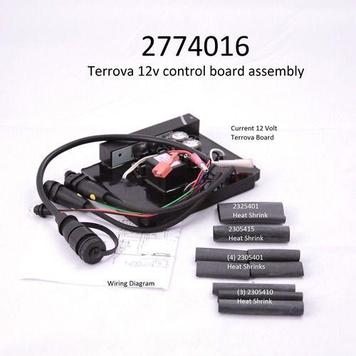 Minn Kota Terrova Main Control Board Part Number 2774016 12 Volt Minn Kota Control Boat Parts