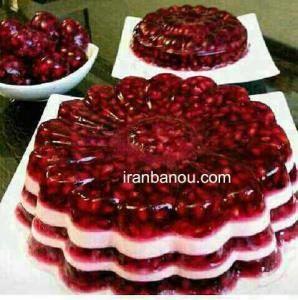 تزئین انواع ژله های شیک و مجلسی Persian Desserts Persian Food Food