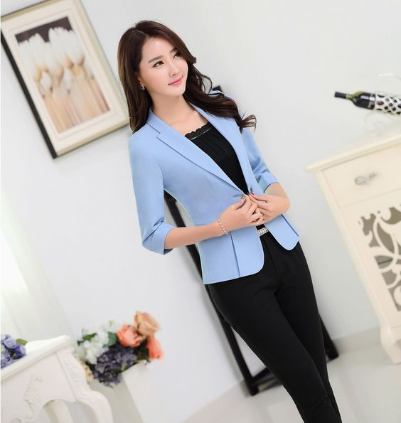 Professional Jacket with Lades Trousers ~2 Peice Set
