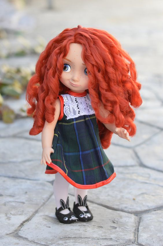 This Merida looks adorable!! from https://www.etsy.com/es/listing/219979834/dress-french-style-for-disney-animator?