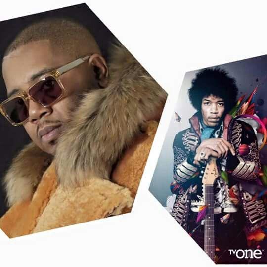 Twista  and Jimi Hendrix