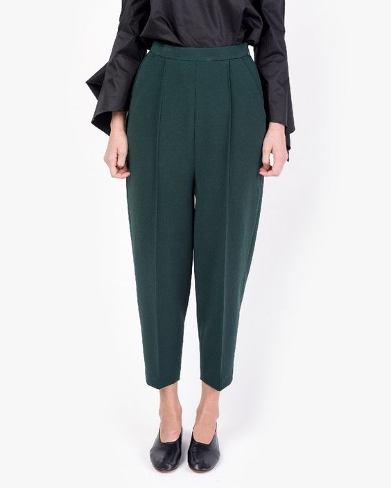 Cocoon Trouser in Da