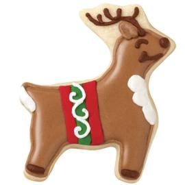 Ready for Christmas Reindeer Cookies  #wiltoncontest