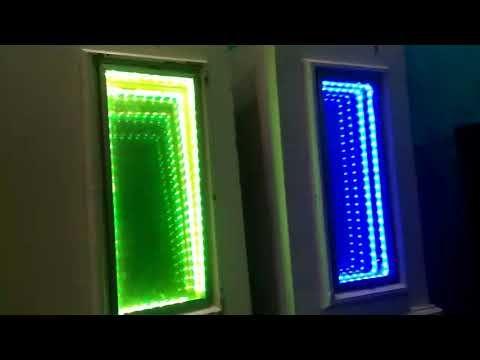 Led Infinity Illusion Mirror For Wedding Decoration Led Lampu