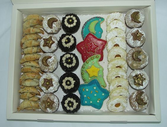 Special Ramadan of cupcakes and cookies.