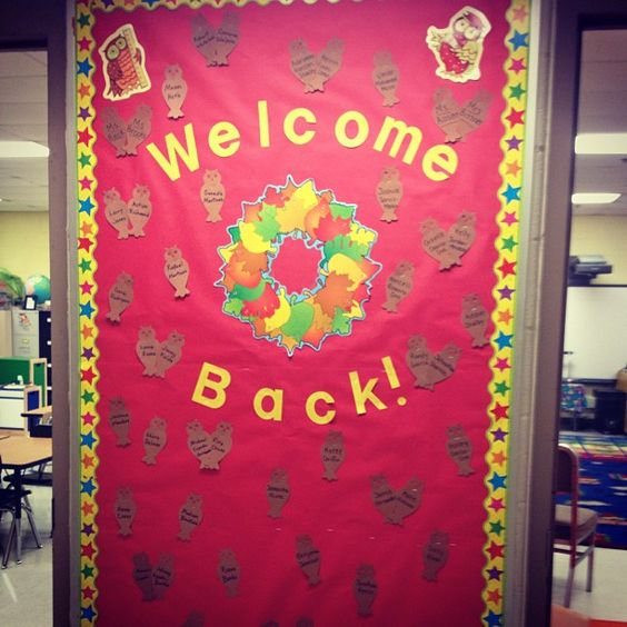 Classroom Door Ideas For Back To School : Welcome back decorations ideas future