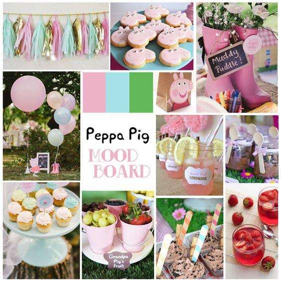 Azucarillos de Colores: Un mood board para una fiesta de cumpleaños