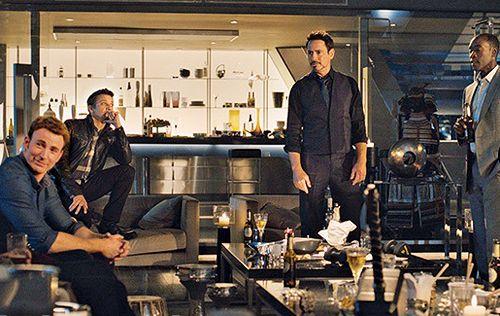 Steve Rogers, Clint Barton, Tony Stark, James Rhodes || Avengers AoU || 500px × 316px || #promo