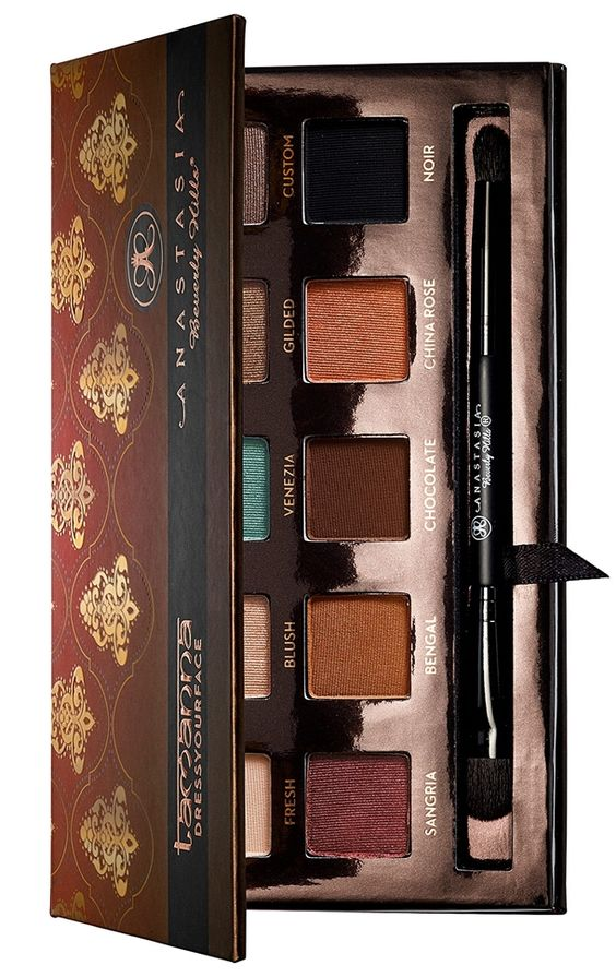 In her second collaboration with Anastasia Beverly Hills, makeup artist Tamanna Roashan brings a selection of stunning warm shades for both Fall and Holida