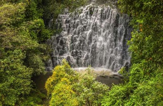ELEPHANT FALLS, KHASI HILLS, NEAR SHILLONG, MEGHALAYA Yet another example of Meghalaya's varied and breathtaking waterfalls... these cascading waters near Shillong are a major tourist attraction around the state capital.