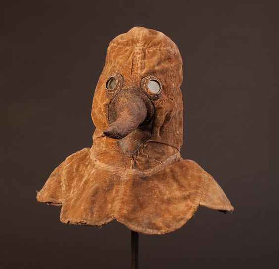 German Historical Museum: Technical and medical history. Pesthaube 1601-1700
