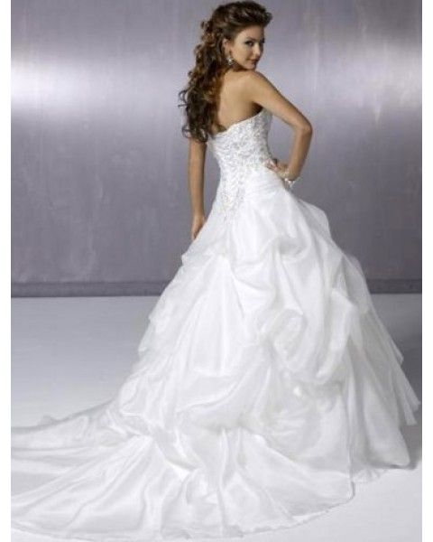 explore sweetheart wedding dress