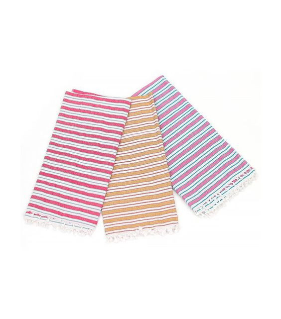 Heather Taylor Home Striped Tea Towel
