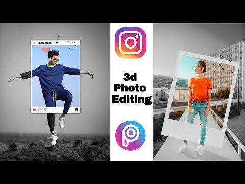 Instagram 3d Photo Editing 3d Protrait Dp Editing Picsart Tutorial Youtube In 2020 Photo Editing Picsart Tutorial Photo Editing Tutorial