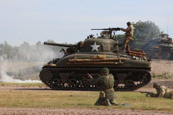Press the Attack (M4A1 Sherman) by DavidKrigbaum