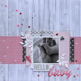 Layout: Hello Baby, Moodboard-Challenge des jot Magazin