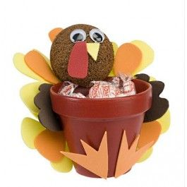DecoArt® Turkey Treat Clay Pot
