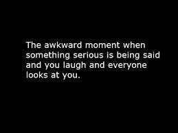 Happened once.