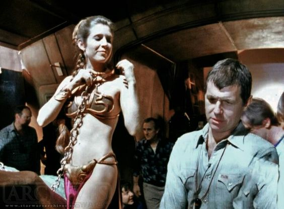 Slave Leia | Full Metal Bikini | Pinterest | Carrie fisher ...