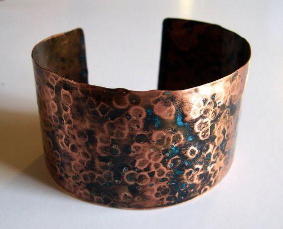 copper cuff ... so pretty