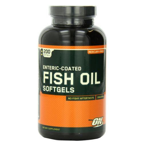น้ำมันปลา ยี่ห้อ Optimum Nutrition Fish Oil, 300 MG, 200 Softgels