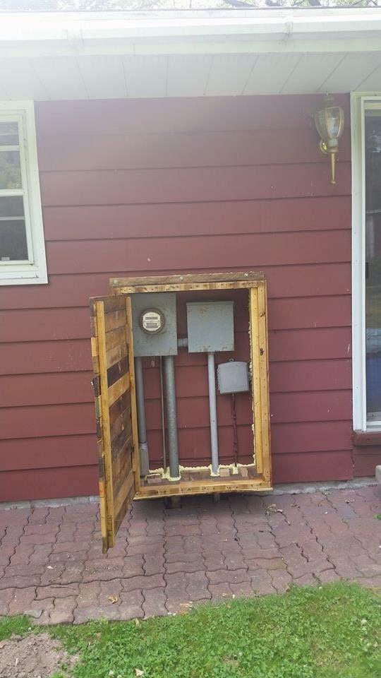 Outdoor Electricity Meter : Outdoor meter cabinet … pinteres…