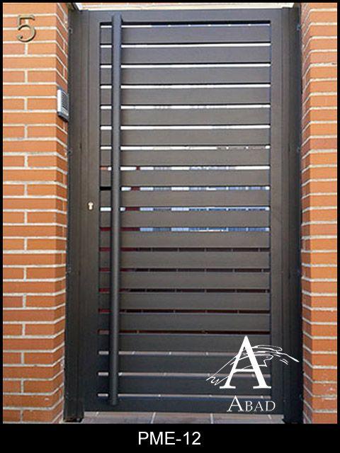 Puertas de metal para exterior