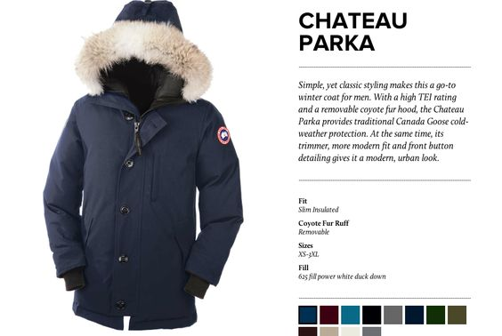 Canada Goose hats online shop - Canada Goose Chateau Parka (-15 / -25 degrees), removable fur ...