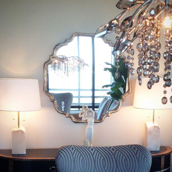 Beautiful open plan condo. Vignette in the dining room #lenakroupnikinteriors #interiordesigner