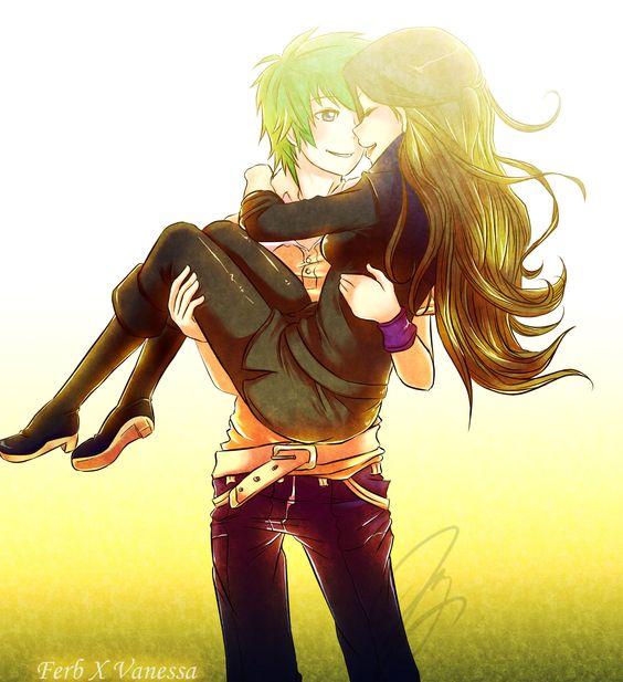 Ferb & Vanessa!!