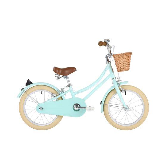 Wiggle France | Vélos enfant - Moins de 7 ans | Vélo Enfant Bobbin Gingersnap 16 pouces (vert menthe pâle)