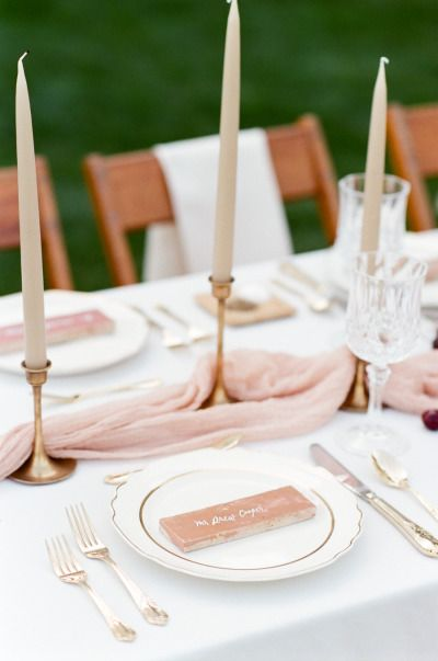 Blush and copper accents: http://www.stylemepretty.com/2015/07/15/romantic-spanish-inspired-wedding-inspiration/ | Photography: Tamara Gruner - http://www.tamaragruner.com/