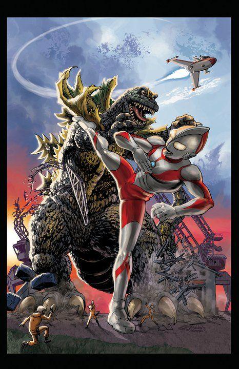 Ultraman vs. Jirass | Monster Mash! | Pinterest | I am, Dr ...  Ultraman vs. Ji...