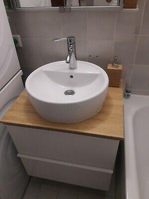 Pin Von Cecilia Johansson Auf Badezimmer In 2020 Waschbeckenunterschrank Waschbecken Ikea Waschbeckenunterschrank