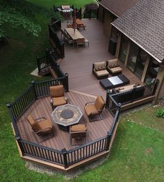 Best Small Deck Ideas With Lights For Your Outdoor Backyard Plant