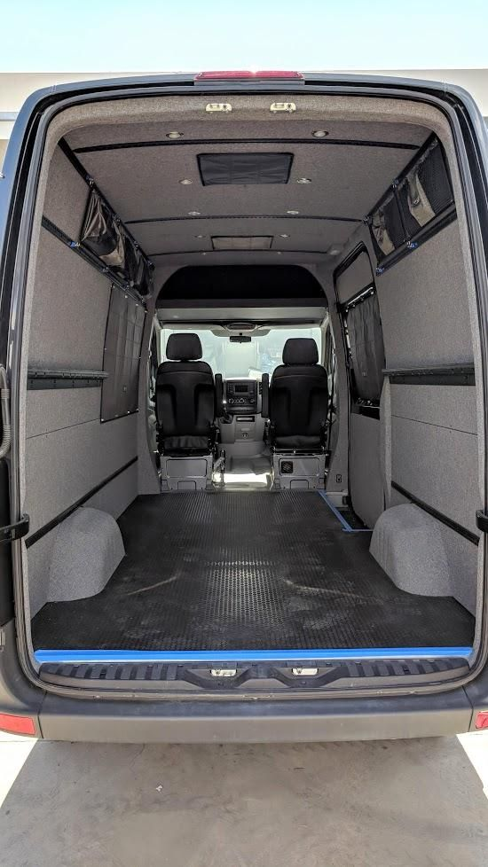 2007 2018 Sprinter Cargo Van Complete Interior Finishing Kit 170 In 2020 Cargo Van Van Sprinter