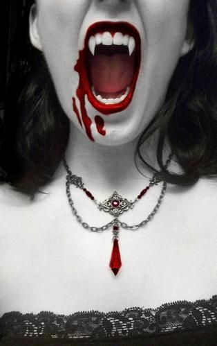 Bloody Vampire girl