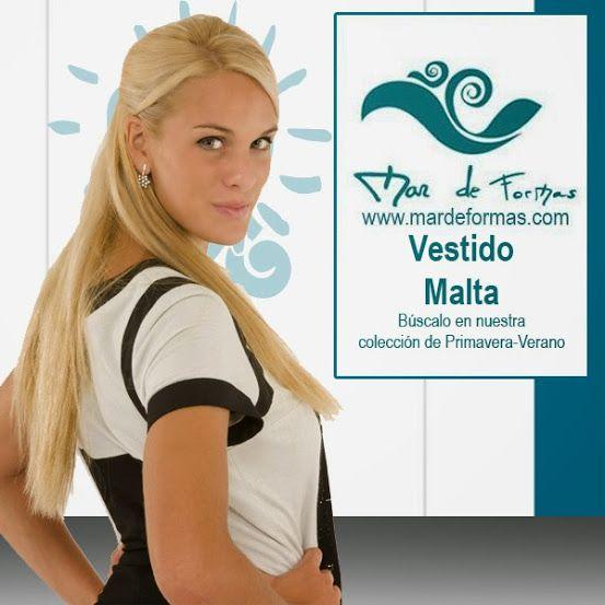 El Vestido Malta Búscalo en nuestra colección antes de que llegue el Otoño http://www.mardeformas.com/ca/17-vestido-malta.html